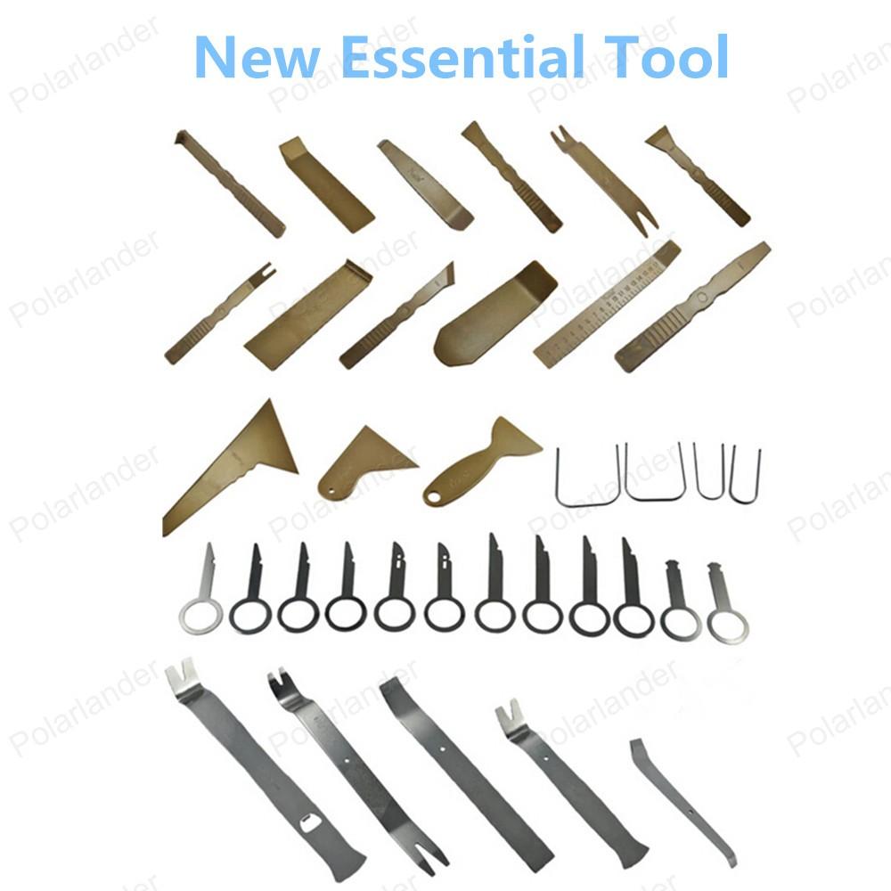 Бесплатная доставка продажа автомобилей панель удаления инструмента-автомобилей ремонт комплект инструментов высокое качество 36 шт./компл.