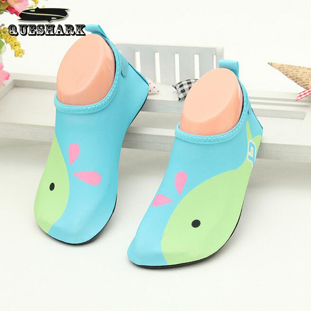 Children Swimming Fins Diving Socks Snorkeling Boots Neoprene Wetsuit Prevent Scratche Warming Non-slip Shoes Seaside(China (Mainland))
