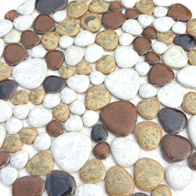 Online kopen Wholesale bruin keramische tegel uit China bruin ...