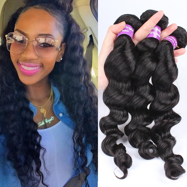Bohemian Weave Human Hair Remy 81