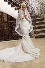 High Neck Crystal Wedding Dresses Long Sleeves Mermaid Trumpet Sequin Lace Applique Beads Rhinestone Bridal Gowns yk1A911(China (Mainland))
