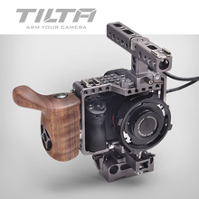Tilta A7 Rig A7S A72 A7R A7R2 Rig Cage + Baseplate + Wooden Handle For SONY A7 series camera Film shooting /free shipping