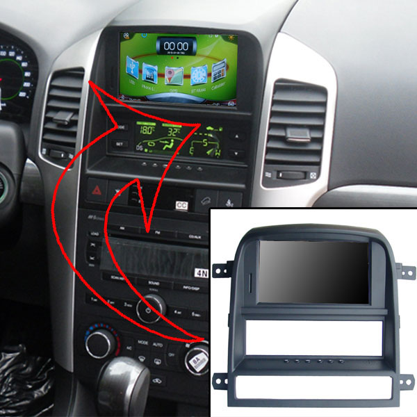 """6.2""""Capacitance Touch Screen for Chevrolet Captiva 2008-2011+USB Player+Car DVR+Android mobile phone and host interaction(China (Mainland))"""