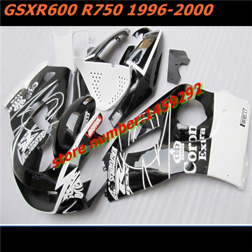 HW- motorcycle fairing fits for GSX R600 GSXR750 96 00 GSXR 600 750 1996 2000 Motocycle Accessories(China (Mainland))