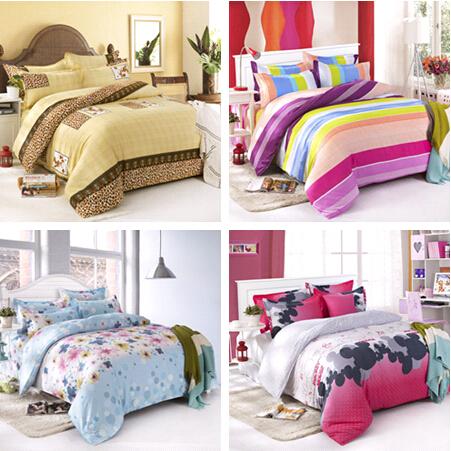 On sale 4 pcs bedding set bedding set king size bed sets for Bedding sets sale