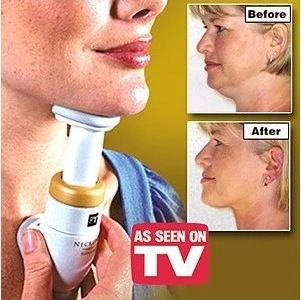 Neckline Slimmer Neck Line Exerciser Chin Massager Thin Jaw Reduce Double Chin(China (Mainland))