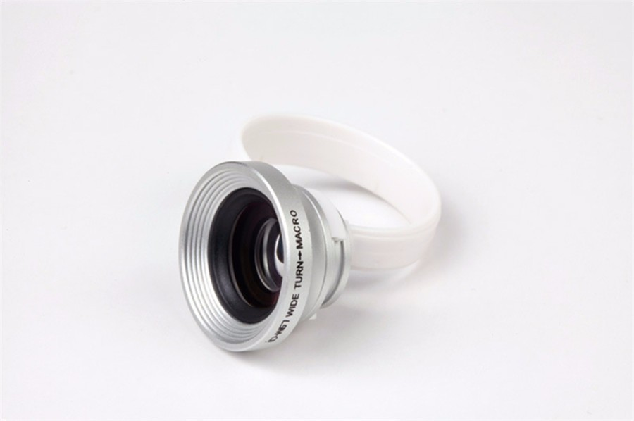 2in1 Lente 8x Telephoto Zoom Lens 0.67x Wide Angle & Macro Lens Mobile Phone Camera Optical Lenses For iPhone Samsung S7 Xiaomi