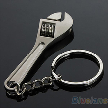 Creative Tool Wrench Spanner Key Chain Ring Keyring Metal Keychain Adjustable 8915
