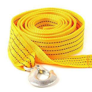 iZone Card 5 meters neon trailer rope 2 - 3 car towing rope pulling rope straps
