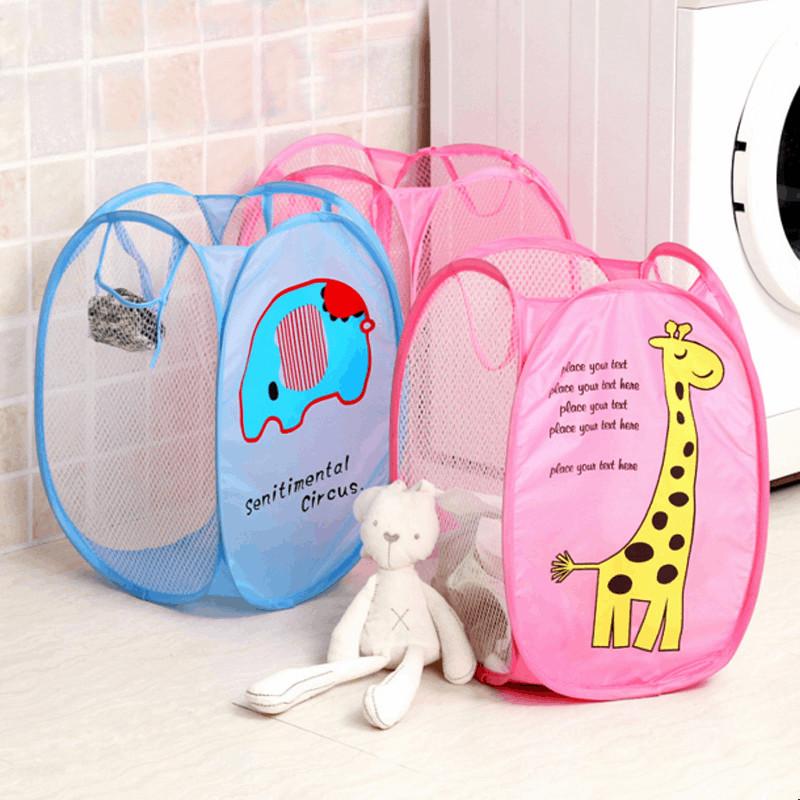 Toys box storage basket Laundry Bucket Basket Children's Toys Shoes Sundries Box storage organizer for kids(China (Mainland))