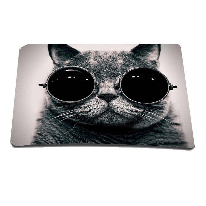 Car Glasses Rubber Comoputer Mouse Pad For Laser Optical Mouse Mice Wholesale Retail Mice Mat Mousepad Pads For Christmas Gift(China (Mainland))