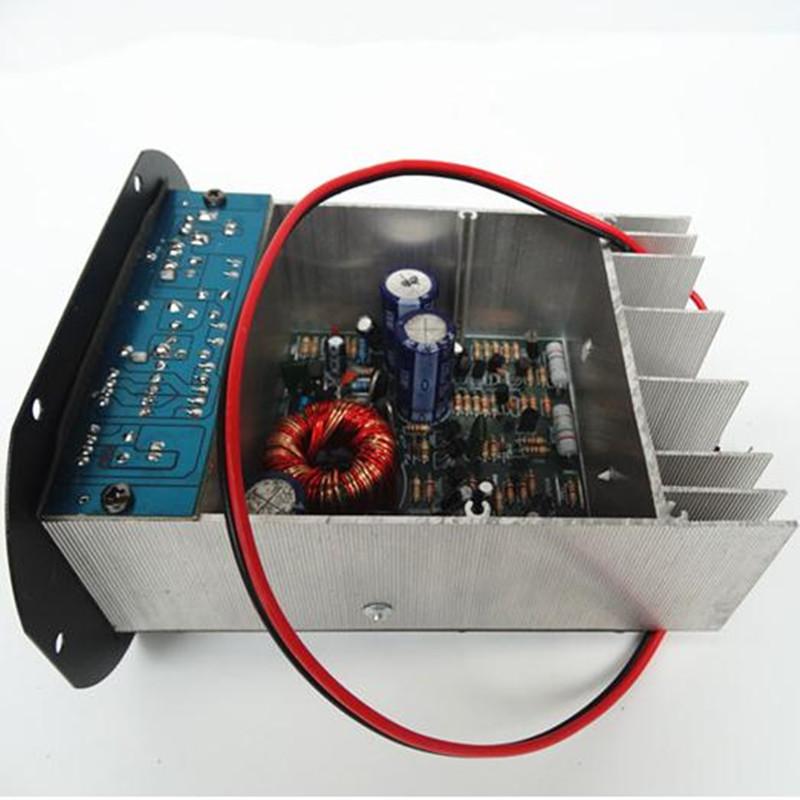 Free shipping DC 12v power amplifier MP3 HIFI power amplifier 12V Subwoofer amplifier board 100w output(China (Mainland))