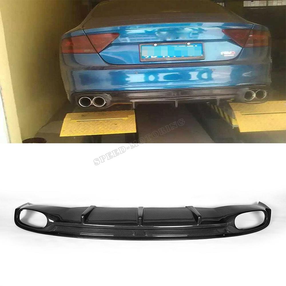 Aliexpress Com Buy Rs7 Styling Carbon Fiber Car Rear