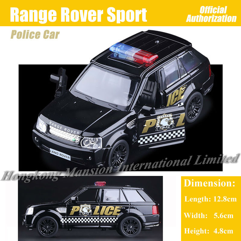 1:36 Scale Diecast Alloy Metal Police Car Model For Range Rover Sport Collectible Model Collection Pull Back Toys Car(China (Mainland))