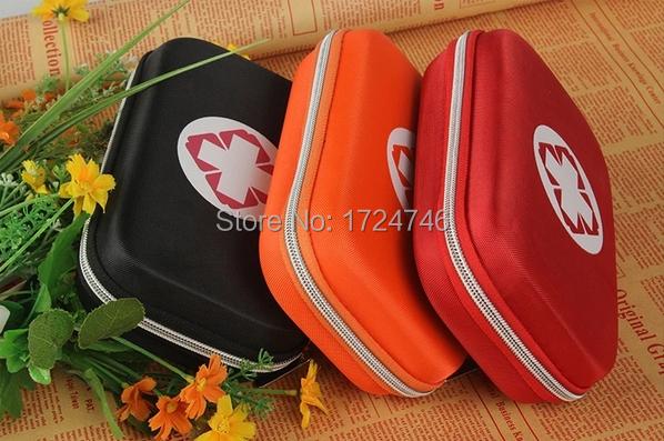 Card car emergency first aid bag toiletry kit car portable survival kit box(China (Mainland))