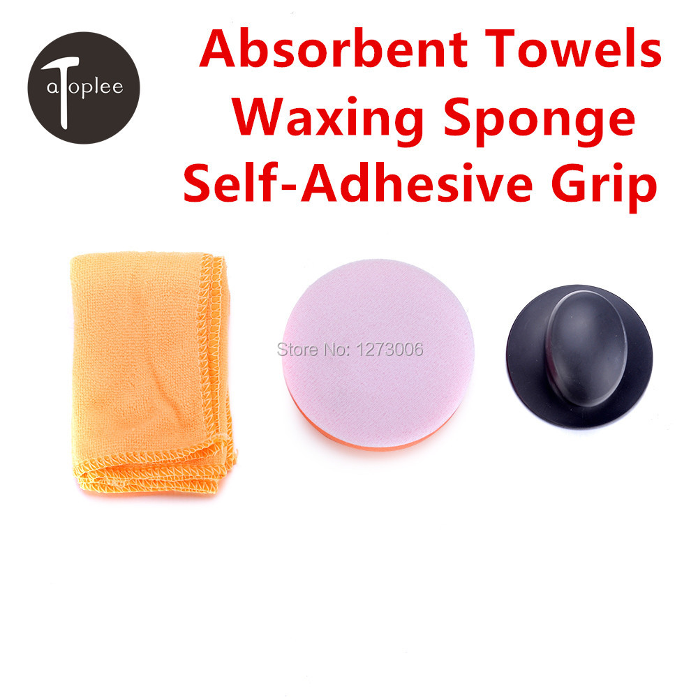 3pcs/Set Car Cleaning Wax/Polish Foam Sponges Buffing Pad Car Cleaning Tool Care For Cars Furnitures(China (Mainland))