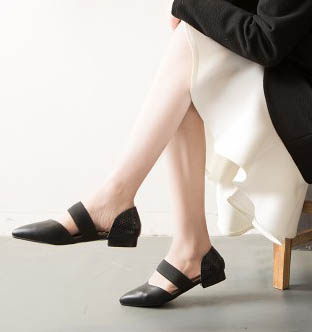 Women fashion flat pointed toe sandals office lady flat vintage street style sandals(China (Mainland))