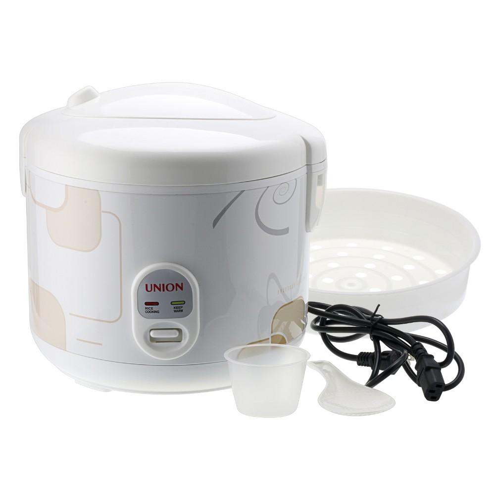 Купить Горячие Продажи США Склад Белый 8-чашки 1.8L Риса CookerUNION Евро Стиль 700 Вт Food Steamer-пот