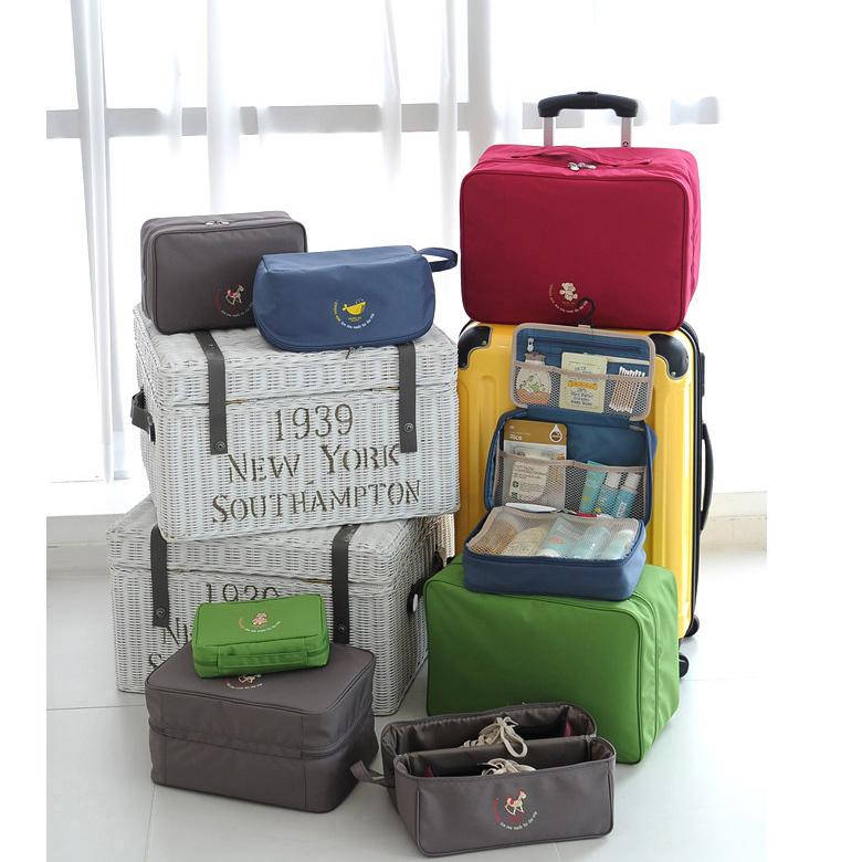Small Portable Daily Use Women Travel Bag Sexy Ladies Luggage Storage Bag Women Bra Bag Underwear Clothing(China (Mainland))