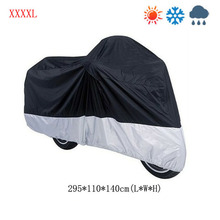 HOT SALE Scooter Motorbike Motorcycle Cover Rain Protection Breathable Largest XXXXL free shipping(China (Mainland))