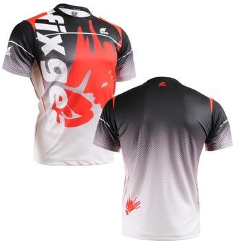 {No. RM-5002} FIXGEAR Tennis Golf T-Shirts Custom Design Printing Men's Sports Tee Crew Neck Short Casual T-shirts S~XXXL