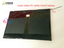 Cube Tablet PC talk9x u65gt,battery 28*130*188 3.7V 10000 mah Li - ion battery 'for(China (Mainland))