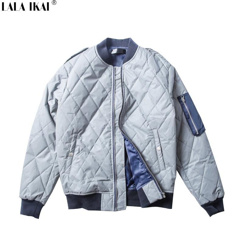 Patchwork Thick 3M Reflective Jacket Men Hip Hop Pockets Trend MA1 Bomber Jacket Men Sport Windbreaker Coats Men SMC0227-4.5