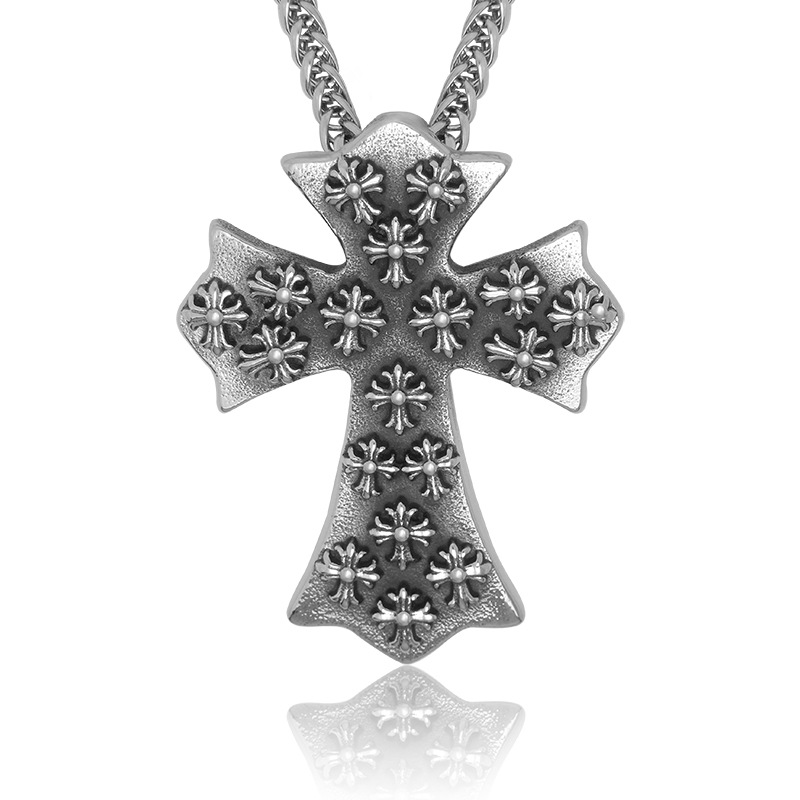 2015 Rushed Hot Sale Crosses Charm Diy Floating Locket Retro Fleur Cross Necklace Accessories Sp241 Essential Trendsetter Club(China (Mainland))