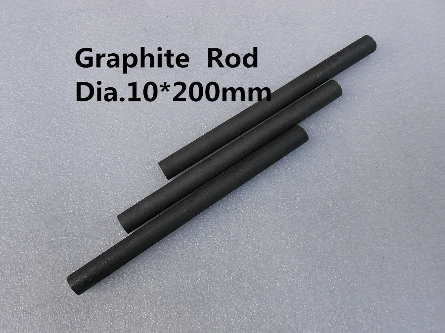 Графитовый стержень Hi-Tech Carbon Dia.10*200mm 4 Rod 10200 free shipping dia 50 300mm graphite rod artificial carbon rod stick
