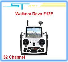 2014 Newest Walkera Devo F12E FPV Transmitter Build-in 32 Channel Telemetry Radio for H500 X350 pro X800 RC Drone qu toy hobbies