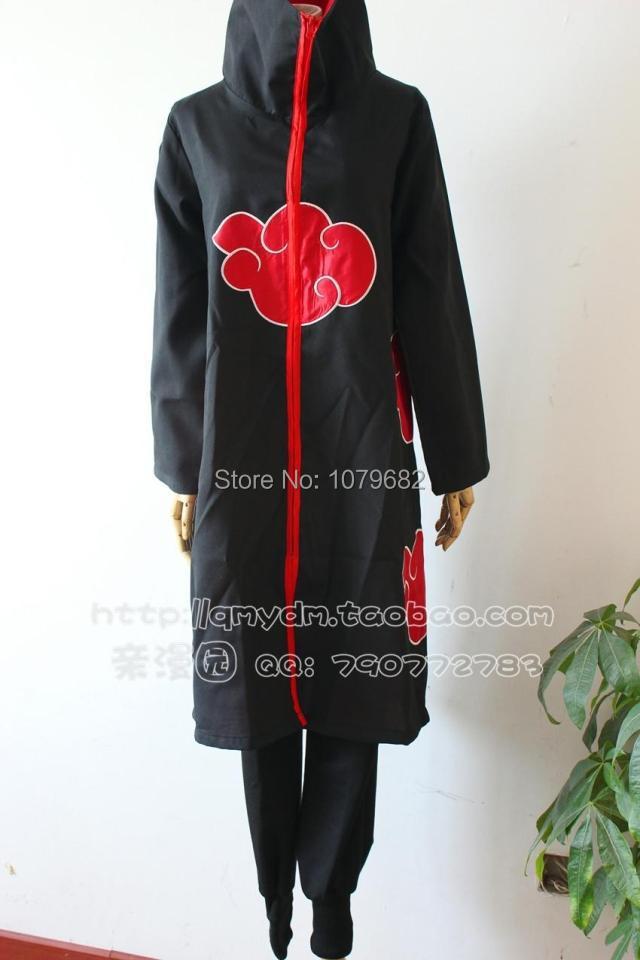 Naruto costume Akatsuki pants Uchiha Itachi pants cosplay generic pants anime cosplay halloween costume