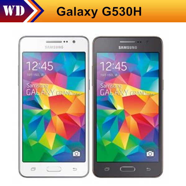 Refurbished Unlocked Cell Phone Original Samsung Galaxy Grand Prime G530 G530H Ouad Core Dual Sim 5.0 Inch TouchScreen(China (Mainland))