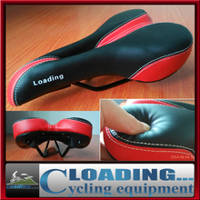 2014 brand new MTB cycling bicycle middle hollow saddle ventilate soft for long trip pu leather seat mountain road bike parts