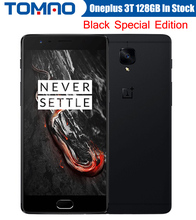 Oneplus 3T A3010 LTE 4G Mobile Phone Snapdragon 821 5.5 inch Android 6.0 6G RAM 64/128G ROM 16MP NFC Fingerprint Black Version Stock - Hongkong Tommao Store store
