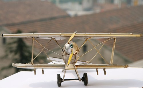 Lovely Airplane Models Handmade Nice Novelty Aeroplane Aircrafts Home Decoration School Christmas Birthday Festival Gifts
