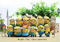 hot toys pokemon minions kids toys anime figure cosplay figurine 12pcs doll ornaments