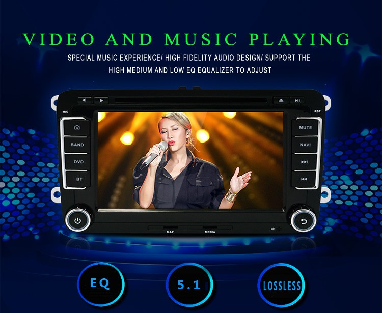 Free Shipping Android 4.4 Capacitive Screen! Two Din Car DVD Player For Seat/Altea/Leon/Toledo/VW/Skoda Radio GPS RDS Can Bus