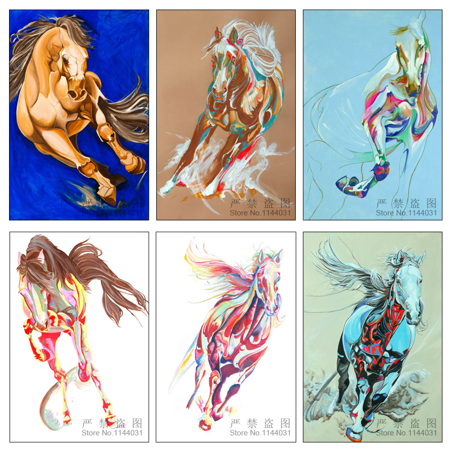 Gorgeous Equine 5d Diy Diamond Painting Full Square Horse Picture Of Rhinestones Needlework Kits Home Decor Diamond Embroidery(China (Mainland))