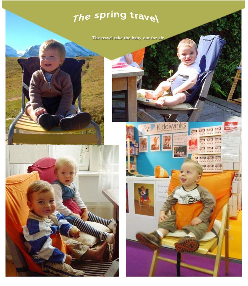 """Детский стульчик """"Sack & seat"""".  Несложное по своей конструкции, но очень функциональное и удобное сидение, которое обеспечит Вашему малышу свободу движений возможность познавать мир в любом месте. Цена 1500 рублей"""