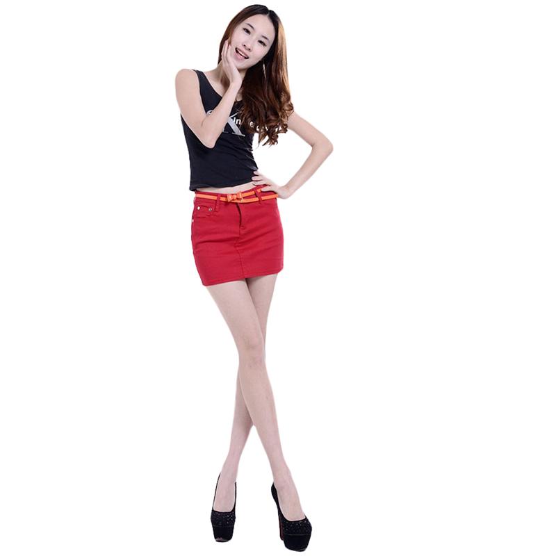 SOHEER 2017 Fashion Retro Elastic Shorts Feminino Denim Shorts for Women Mid Waist Jeans Shorts Plus Size Short Jeans Female