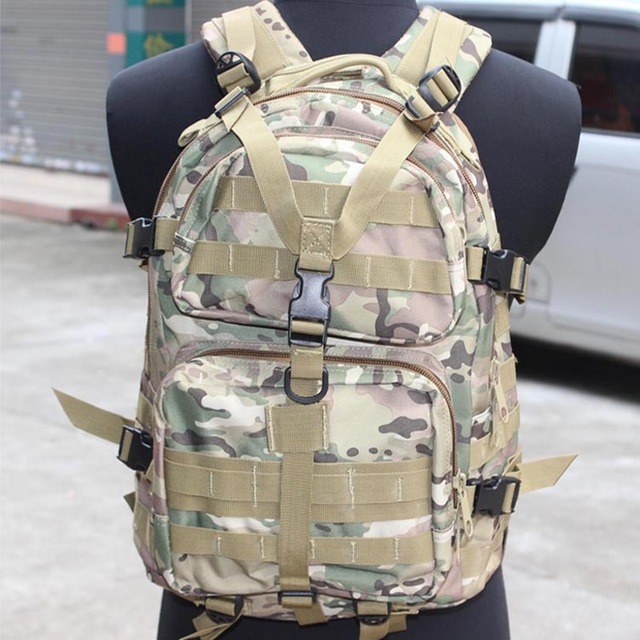 Outdoor Sports Tactical Molle backpack mountaineering travel Camping Hiking bags