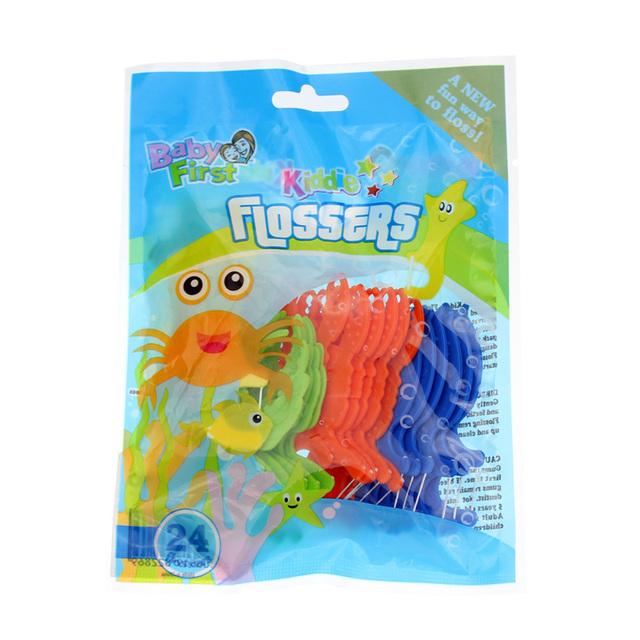 Pesitro (24 шт./упак.) Стоматологическая Flosser Палку Для Детей Уход За Полостью ...