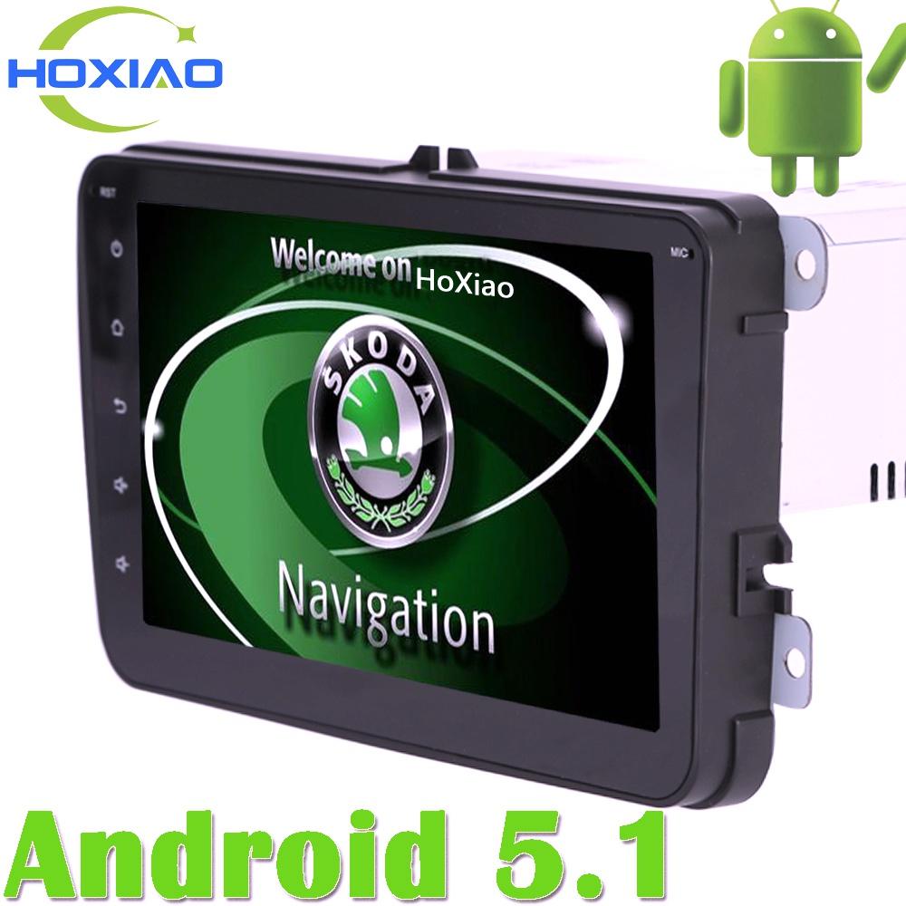 For Golf Skoda Android 5.1 Gps Auto Radio 2 Din Car DVD Player 7 Inch to Fabia Octavia Yeti Volkswagen POLO PASSAT Seat Tiguan(China (Mainland))
