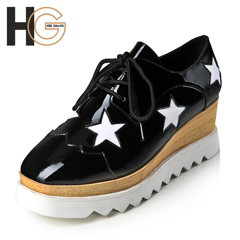 2015 New Arrival Woman Shoes,Fashion Trendy Star Pattern Platform Shoes For Spring & Summer Size 35-39,Drop Shipping,XWC150
