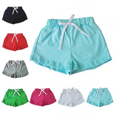 2015 Summer Style 100%Cotton Child Loop Pile Shorts Beach Pants Baby Boys/Girls Casual Shorts,Soft Cotton Toughskin Baby Pajamas(China (Mainland))