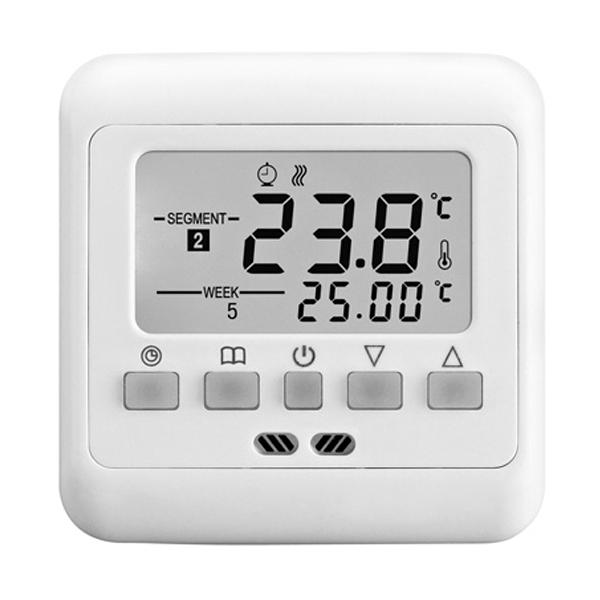 16А теплый пол, Отопление термометр контроллер теплые температуры термостат загрузок Программируемый ЖК-дисплей