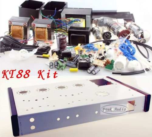 Tube Amplifier DIY Kit KT88 single-ended class A tube amp HIFI DIY amplifier KIT 16w+16w 6N8P+KT88+5Z3P(China (Mainland))