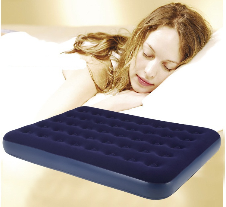137*191*22cm 2 person double size air mattress inflatable bed, airbed ,camping mattress(China (Mainland))