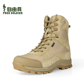 FREE SOLDIER outdoor sport shoes men for hiking walking climbing tactical men's boots hiking shoes