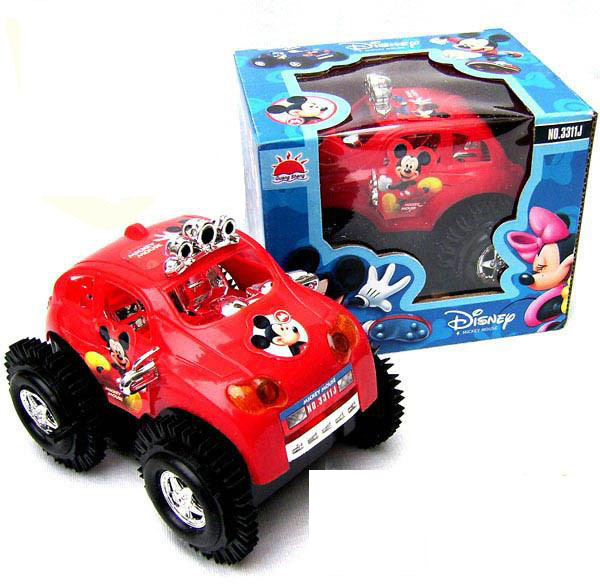 MMT Free shipping Hot sale Ultra-fast electric dump truck cartoon baby car toy 2 colors(China (Mainland))